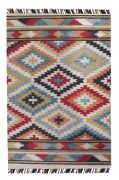 Tapis Haslet tufté main laine multicolore 160x230 - The Rug Republic