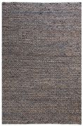 Tapis Ikary Noir 160x230 - The Rug Republic