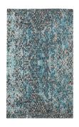 Tapis Inovar tissé main viscose bleu 160x230 - The Rug Republic