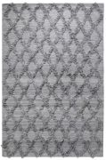 Tapis Jucar tissé main laine grey 190x290 - The Rug Republic