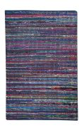 Tapis Madrid Coton recyclé 180x120 - The Rug Republic