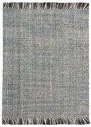 Tapis Nurten tissé main chanvre/laine coloris gris 160x230 - The Rug Republic