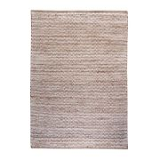 Tapis Osage caramel chanvre/coton 180x120 - The Rug Republic