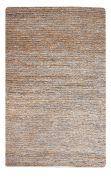 Tapis Parry tissé main fibres naturelles gris 160x230 - The Rug Republic