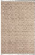 Tapis Priam tissé main chanvre/coton naturel et ivoire 180x120 - The Rug Republic