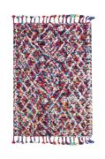 Tapis Zobia tissé main multicolore 120x180 - The Rug Republic