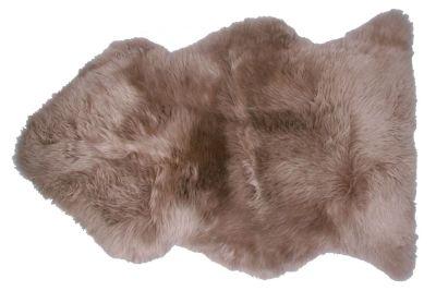 Tapis peau de mouton teint e brun douchka nattiot - Tapis toulemonde bochart soldes ...