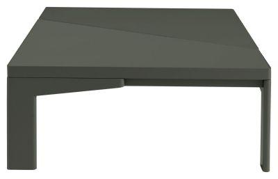 Table Basse Pierre Metal Laque Terres Brulees