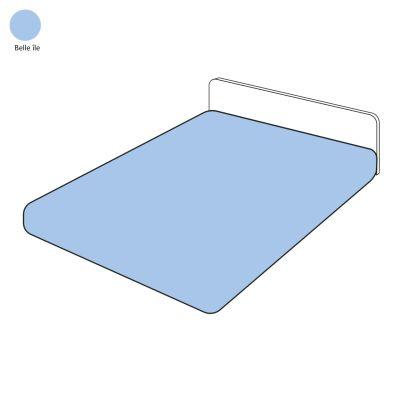 drap housse uni belle le 120x190 linge de maison. Black Bedroom Furniture Sets. Home Design Ideas