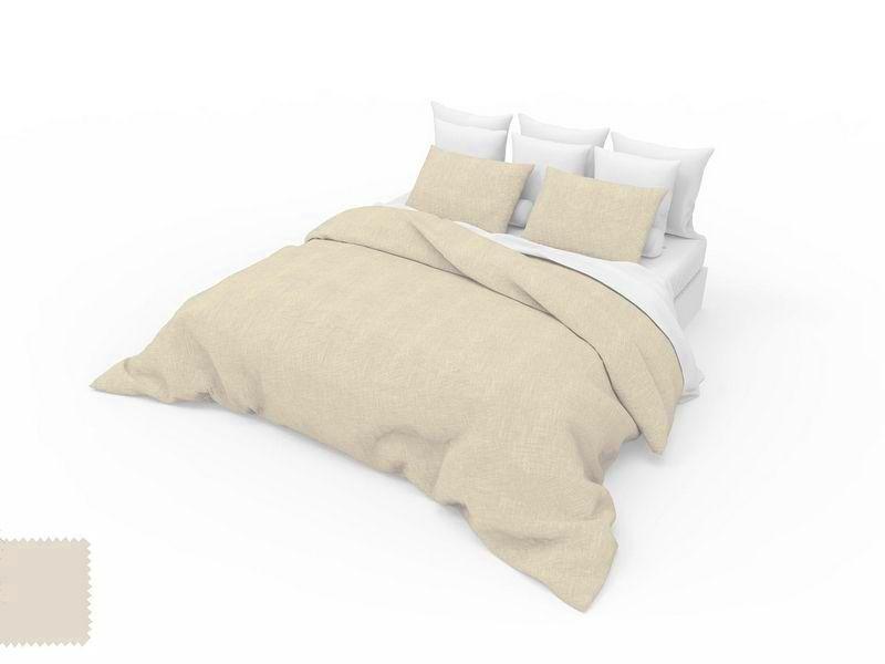 drap housse uni gr ge 140x190 linge de maison. Black Bedroom Furniture Sets. Home Design Ideas