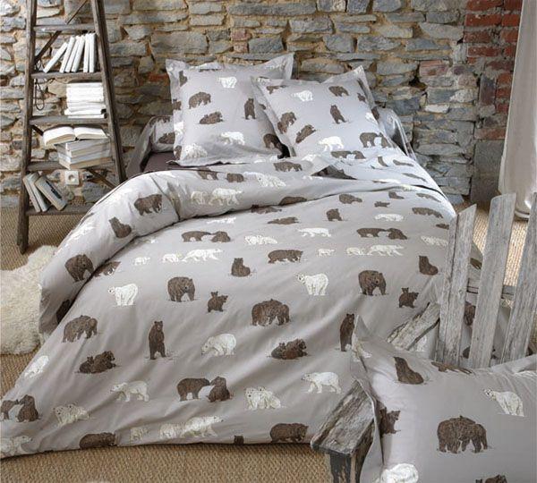 housse de couette baie d 39 hudson 240x220 sylvie thiriez. Black Bedroom Furniture Sets. Home Design Ideas