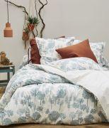 Housse de couette Little wood en percale imprimée mascarpone 140x200 - Sylvie Thiriez