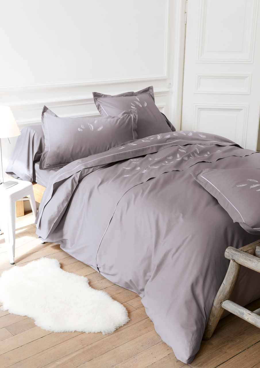 housse de couette percale mia 140x200 sylvie thiriez. Black Bedroom Furniture Sets. Home Design Ideas