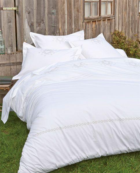housse de couette percale petite pause 140x200 linge de maison. Black Bedroom Furniture Sets. Home Design Ideas