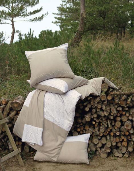 taie d 39 oreiller alpilles stc 80x80 linge de maison. Black Bedroom Furniture Sets. Home Design Ideas