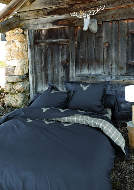 taie de traversin percale le refuge de jack 43x185 sylvie thiriez. Black Bedroom Furniture Sets. Home Design Ideas
