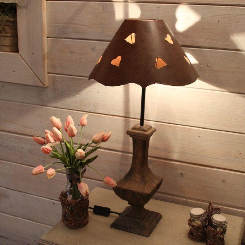 abat jour m tal d coupe coeurs poser gm luminaires. Black Bedroom Furniture Sets. Home Design Ideas