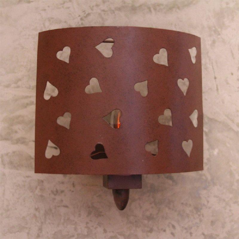 applique m tal coeurs d coup s les sculpteurs du lac. Black Bedroom Furniture Sets. Home Design Ideas