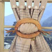 Embrasse bois tous les objets de d coration sur elle maison - Embrasse rideau castorama ...