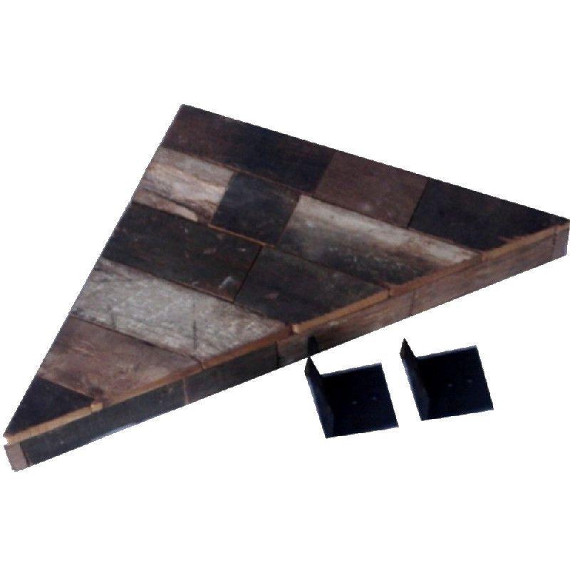 etag re d 39 angle en lamelles de bois reconstitu s chalet. Black Bedroom Furniture Sets. Home Design Ideas