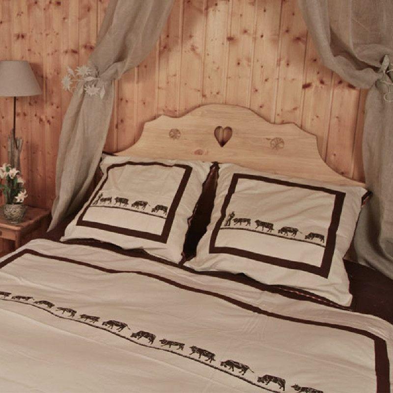 housse de couette poya coordonn e 240x220 les sculpteurs. Black Bedroom Furniture Sets. Home Design Ideas