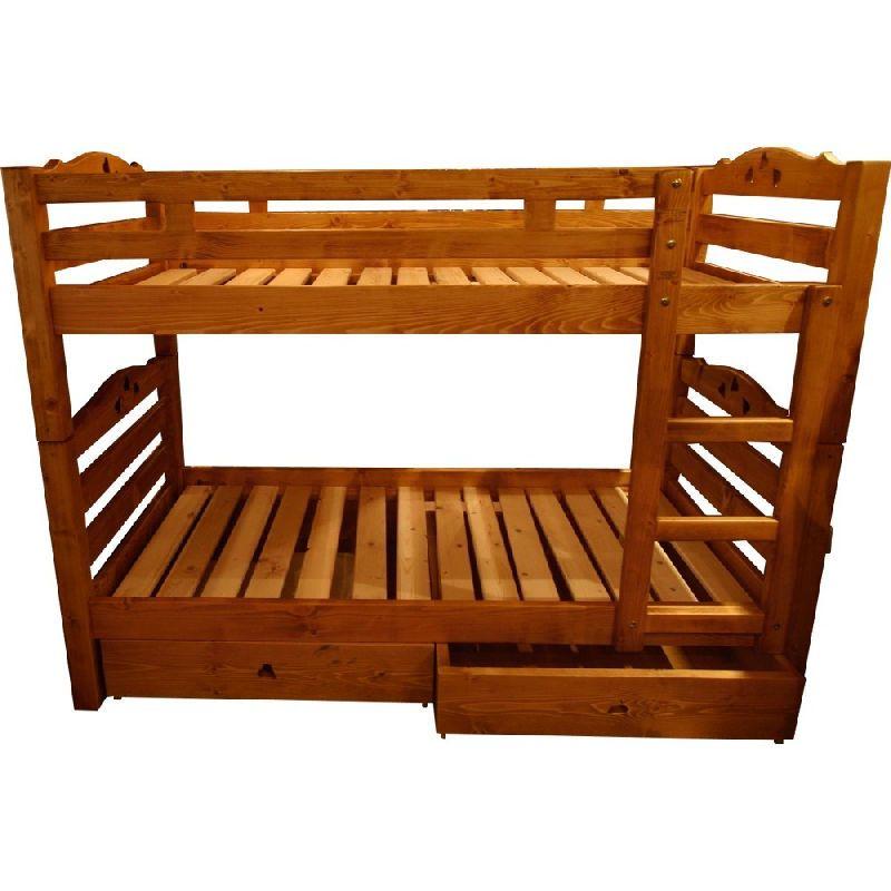 lits superpos s pic a coeur 2 tiroirs les sculpteurs du lac. Black Bedroom Furniture Sets. Home Design Ideas