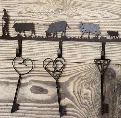 Pat re m tal chocolat 3 crochets poya les sculpteurs du lac - Les sculpteurs du lac ...