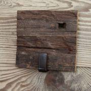 Patère vieux bois 1 crochet