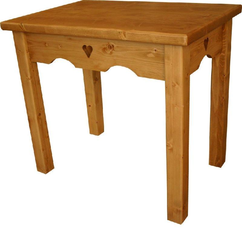 petite table repas mode xiv me si cle pic a coeur les. Black Bedroom Furniture Sets. Home Design Ideas