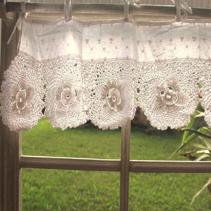 rideau cantonni re coton cru gm les sculpteurs du lac. Black Bedroom Furniture Sets. Home Design Ideas