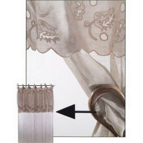 Rideau brise bise lin dentelle images - Rideau voile de lin ...