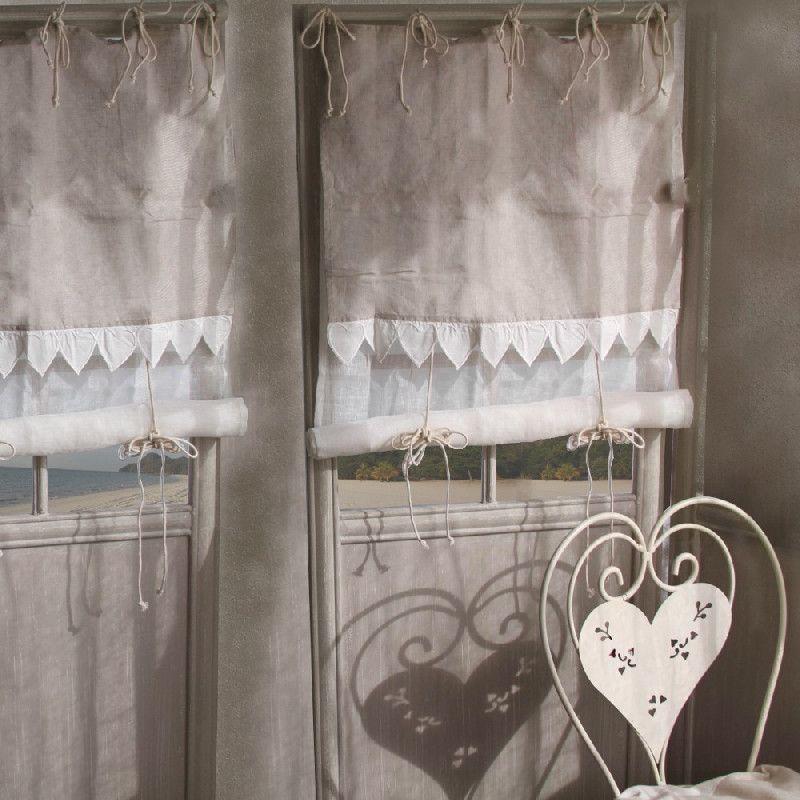 store coeur voile et toile de jute les sculpteurs du lac. Black Bedroom Furniture Sets. Home Design Ideas