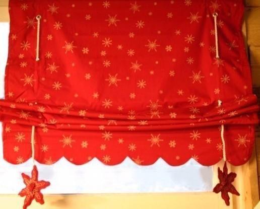store bateau rouge motifs 2 flocons pm d coration. Black Bedroom Furniture Sets. Home Design Ideas
