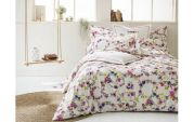 Drap housse Farandole multicolore percale 90x190