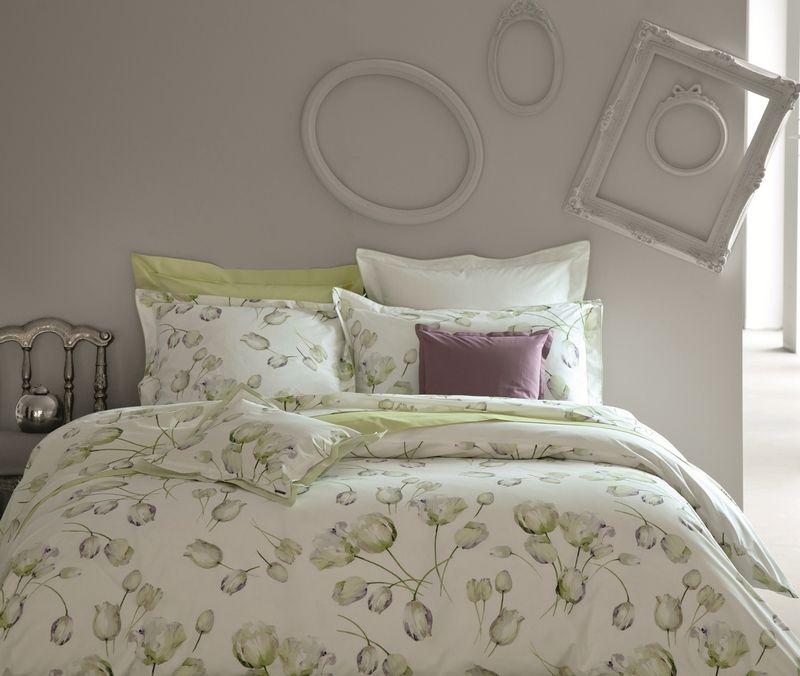 drap housse vexin blanc f rie 140x190 linge de maison. Black Bedroom Furniture Sets. Home Design Ideas