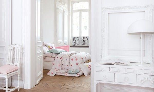 drap housse percale conte d 39 hiver cosy 90x190 linge de maison. Black Bedroom Furniture Sets. Home Design Ideas