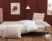 Housse de couette Comète by Inspiration en percale multicolore 140x200