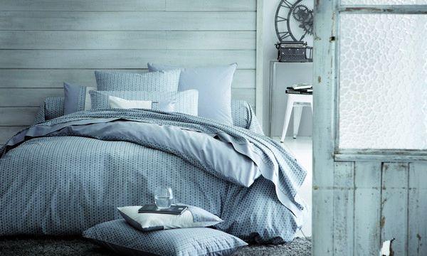 housse de couette percale luca 240x220. Black Bedroom Furniture Sets. Home Design Ideas