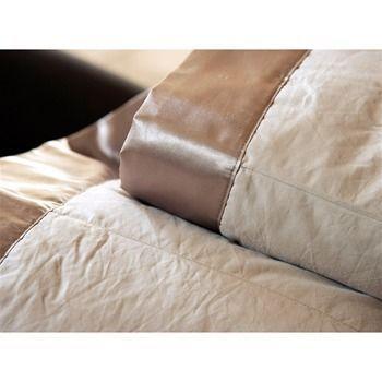 jet de lit cocoon taupe 250x250 linge de maison. Black Bedroom Furniture Sets. Home Design Ideas