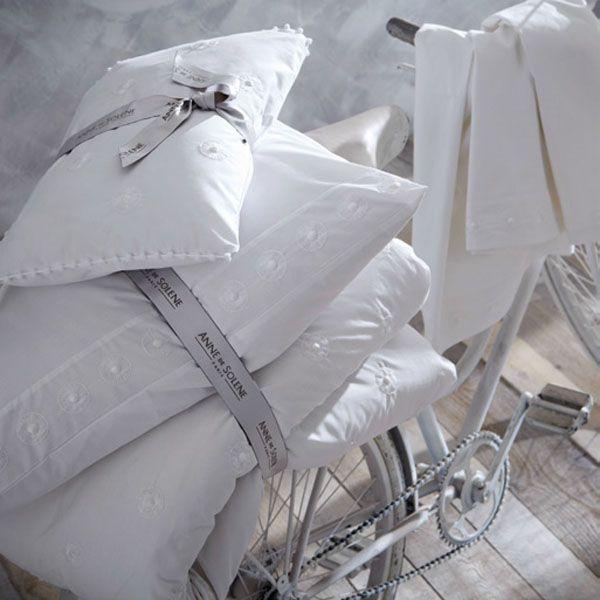 taie d 39 oreiller illusion percale 50x75 linge de maison. Black Bedroom Furniture Sets. Home Design Ideas