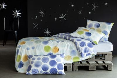 Taie d'oreiller Inspiration / Constellation multicolore 65x65