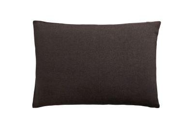 taie d 39 oreiller unie lin lav lina graphite 50x75 linge de maison. Black Bedroom Furniture Sets. Home Design Ideas