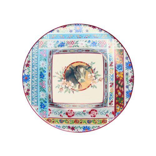 Assiette dessert fa ence esprit d 39 alpages for Decoration a l assiette