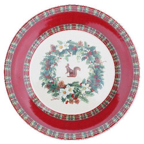 Assiette dessert ronde fa ence roses des neiges for Decoration a l assiette