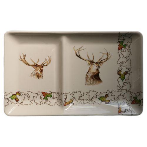 assiette chaud froid rectangulaire fa ence chambord fa encerie de niderviller. Black Bedroom Furniture Sets. Home Design Ideas