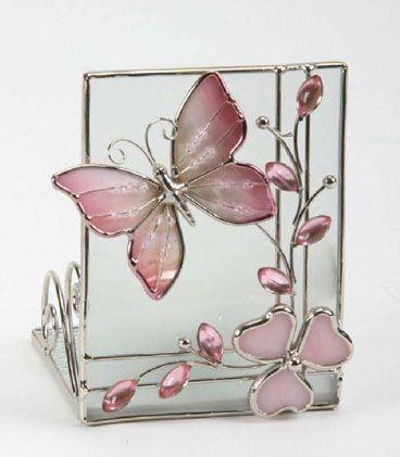 photophore verre papillon rectangle d coration. Black Bedroom Furniture Sets. Home Design Ideas