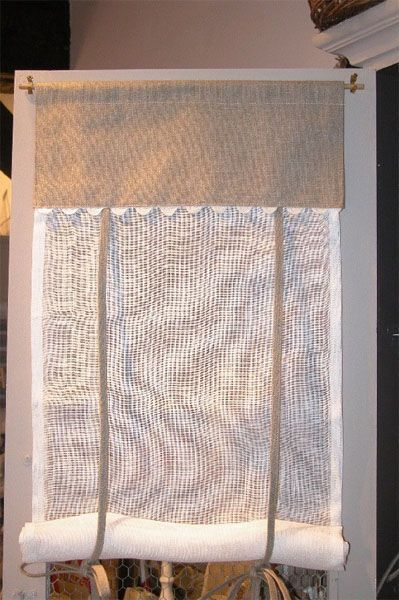 brise bise lin voile de lin serpentine 40x100 d coration. Black Bedroom Furniture Sets. Home Design Ideas