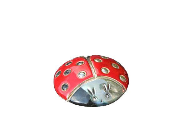 Bibelot coccinelle rouge pois 7 cm for Bibelot design rouge