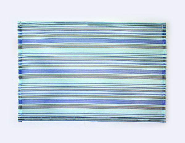 set de table plastique bayad re bleu art de la table. Black Bedroom Furniture Sets. Home Design Ideas