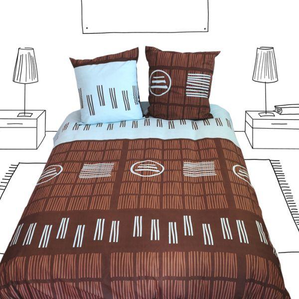 housse de couette akita 240x220 linge de maison. Black Bedroom Furniture Sets. Home Design Ideas